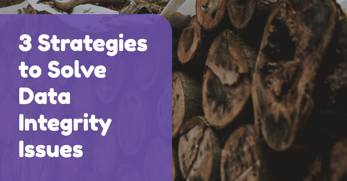 3 Strategies to Solve Data Integrity Issues & Gain Visibility